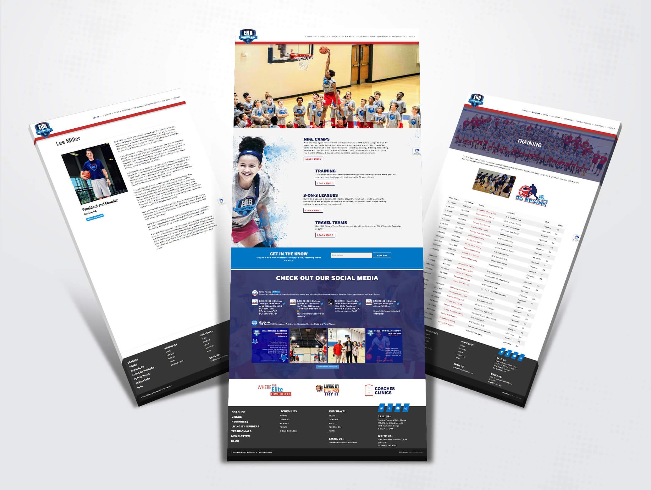 elite hoops basketball website images